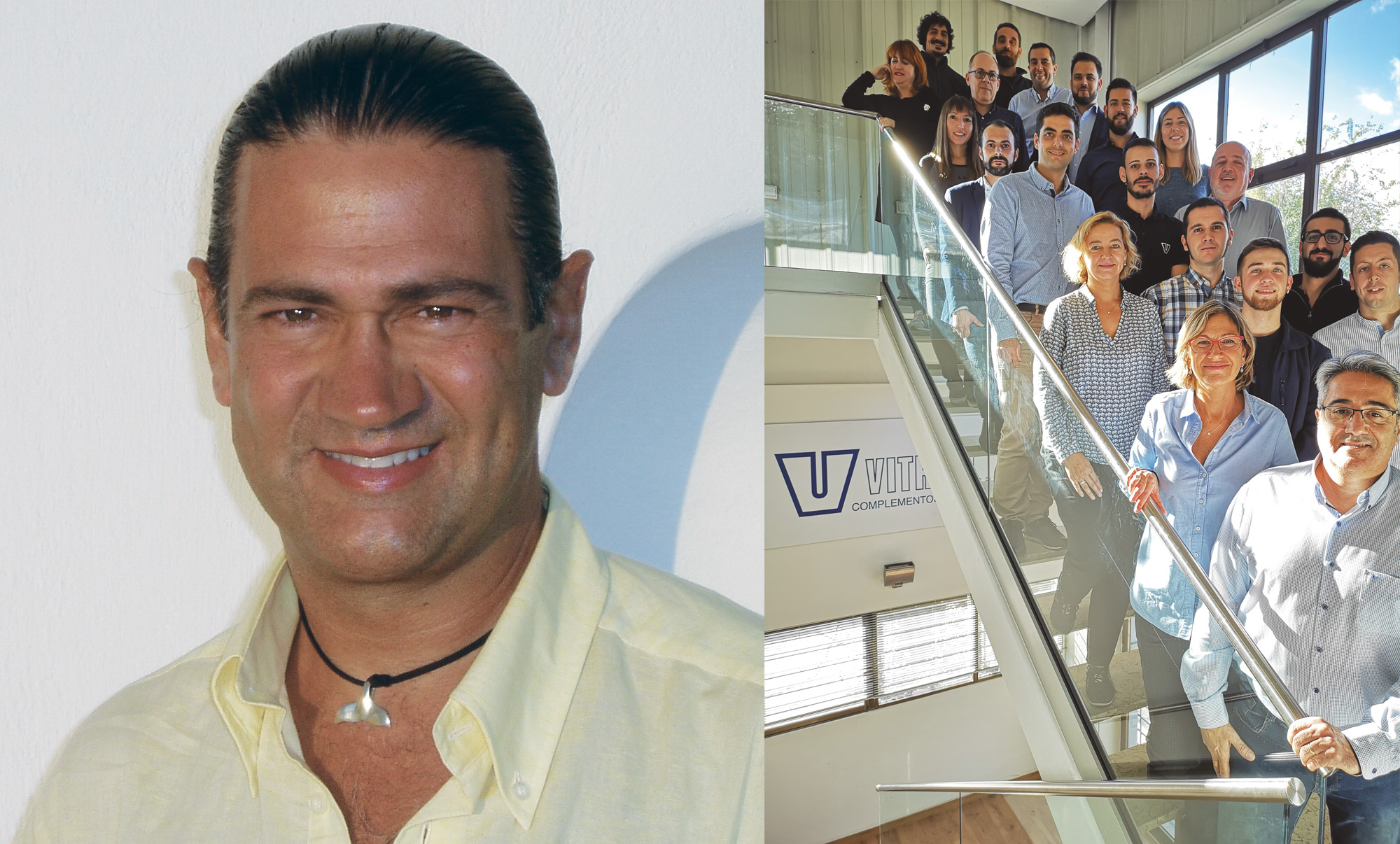 Albert Vidal (1953-2008), founder of Vitrum and fundamental in the commitment to quality of service as an added value.
